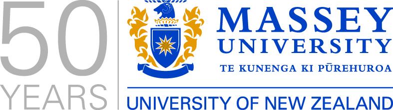 Massey 50 years logo