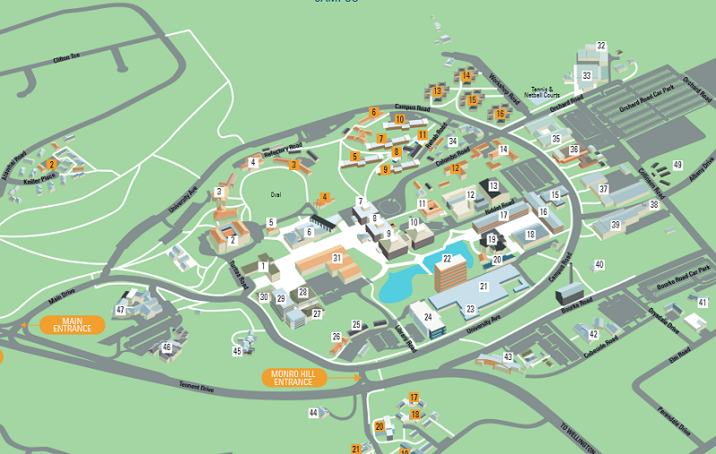 Manawatu Map