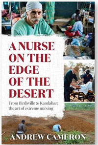 A Nurse on the Edge of the Desert - Book Cover