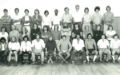 1974 Animal Production Class