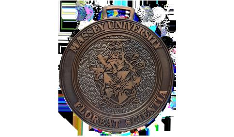 Distingiushed Alumni medal