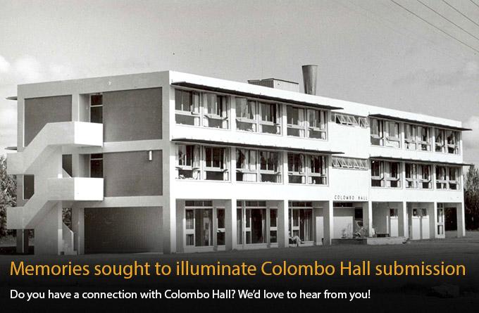 Colombo Hall 1964